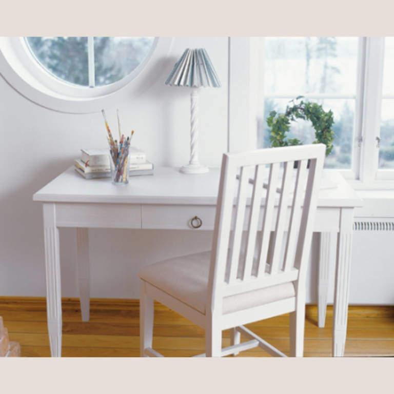 Möbel Skrivbord Stockholm Schreibtisch Klein Weiß